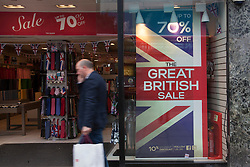 © licensed to London News Pictures. London, UK 01/08/2012. Oxford Street, London's one of the main shopping and touristic destinations, has considerably less vehicle and pedestrian traffic during the Olympics, pictured on 01/08/12.  Photo credit: Tolga Akmen/LNP