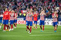 Atletico de Madrid's Juanfran during La Liga Match at Vicente Calderon Stadium in Madrid. May 14, 2016. (ALTERPHOTOS/BorjaB.Hojas)