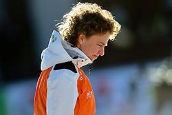 07-01-2012 SCHAATSEN: EC ALLROUND: BUDAPEST<br /> 1500 meter women / Coach Renate Groenewold<br /> ©2012-FotoHoogendoorn.nl