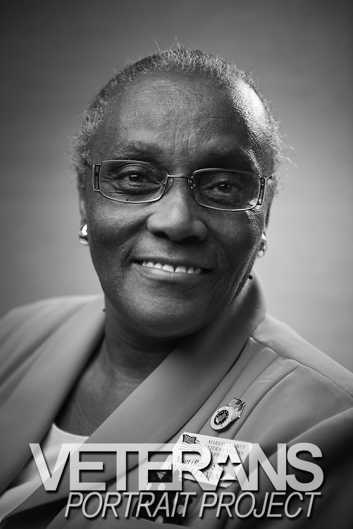 USAF MSgt Retired..Ralph H. Johnson VA Medical Center.Charleston, SC.Women's History Month Event.Veterans Portrait Project