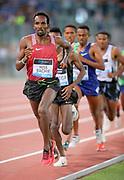 Youssouf Hiss Bachir (DJI) runs in the 5,000m during the 39th Golden Gala Pietro Menena in an IAAF Diamond League meet at Stadio Olimpico in Rome on Thursday, June 6, 2019. (Jiro Mochizuki/Image of Sport)