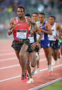 Youssouf Hiss Bachir (DJI) runs in the 5,000m during the 39th Golden Gala Pietro Menena in an IAAF Diamond League meet at Stadio Olimpico in Rome on Thursday, June 6, 2019. (Jiro Mochizuki/Image of Sport)