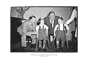 comedy duo Stan Laurel and Oliver Hardy meet two young fans.<br /> <br /> 22nd September 1953<br /> 22/09/1953