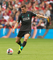 EDINBURGH, SCOTLAND - JULY 28: <br /> Liverpool midfielder, James Milner, during the Pre-Season Friendly match between Liverpool FC and SSC Napoli at Murrayfield on July 28, 2019 in Edinburgh, Scotland. (Photo by MB Media)
