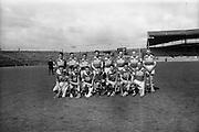 25/04/1965<br /> 04/25/1965<br /> 25 April 1965<br /> National Hurling League Semi-Final: Kerry v West Meath at Croke Park, Dublin. <br /> Kerry team.