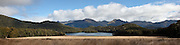 Panoramic of Island Lake, Fiordland