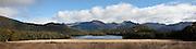Panoramic of Island Lake, Fiordland