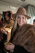 EDWINA HADDEN; LAVINIA BRENNAN, Hennessy Gold Cup, The Racecourse Newbury. 30 November 2013.