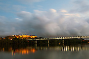 Tui international bridge that links Spain and Portugal, Tui, Spain.