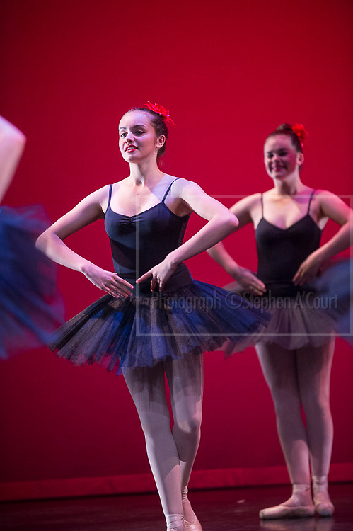 Wellington, NZ. 3.12.2014. Wednesday 5.30pm show. Paquita, for the Wellington Dance & Performing Arts Academy end of year stage-show 2014. Photo credit: Stephen A'Court.  COPYRIGHT ©Stephen A'Court