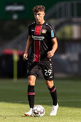 Kai Havertz of Bayer 04 Leverkusen during the Pre-season Friendly match between Fortuna Sittard and Bayer Leverkusen at the Fortuna Sittard Stadium on July 28, 2018 in Sittard, The Netherlands