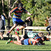 Premier grade Rugby union match between Tawa v OBU  at Lyndhurst Park, Tawa, Wellington, New Zealand on 16 July 2016.  Tawa won 38-20.