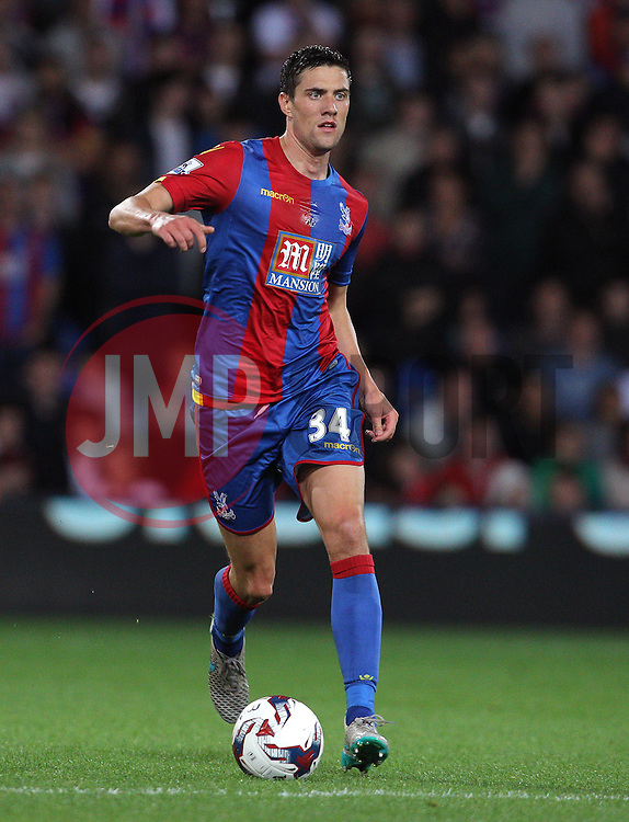 Martin Kelly of Crystal Palace - Mandatory byline: Paul Terry/JMP - 07966386802 - 25/08/2015 - FOOTBALL - Selhurst Park -London,England - Crystal Palace v Shrewsbury town - Capital One Cup - Second Round