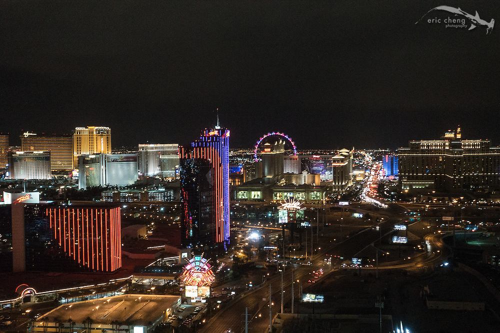 View from Palms Casino Resort. CES 2016, Las Vegas.