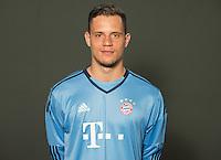 German Soccer Bundesliga 2015/16 - Photocall of FC Bayern Munich on 16 July 2015 in Munich, Germany: goalkeeper Ivan Lucic