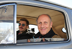 07.01.2016, Gröbming, AUT, Planai-Classic 2016, Sonderprüfung Trabrennbahn Gröbming, im Bild Hans-Joachim Stuck und Ferdinand Stuck (GER), VW Käfer Mille Miglia, Bj. 1956 // during the Planai-Classic 2016 in Gröbming, Austria on 2016/01/07. EXPA Pictures © 2016, PhotoCredit: EXPA / Martin Huber