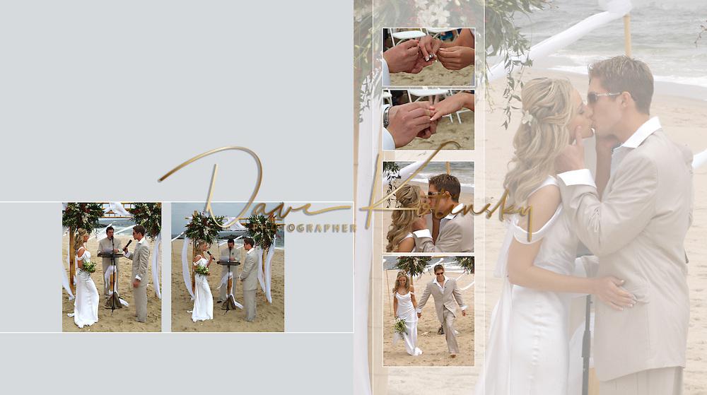 NJ Beach Wedding Album