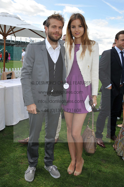 SASKIA BOXFORD and at the 27th annual Cartier International Polo Day featuring the 100th Coronation Cup between England and Brazil held at Guards Polo Club, Windsor Great Park, Berkshire on 24th July 2011.