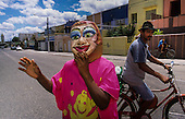 Brazil-Olinda, Carnaval, artists and colonial architecture