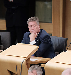 First Minister's Questions in the Scottish Parliament<br /> <br /> Thursday, 19th September 2019<br /> <br /> Pictured: Keith Brown MSP<br /> <br /> Alex Todd | Edinburgh Elite media