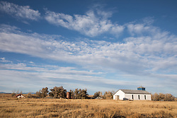 Sapello, New Mexico church on a ranch