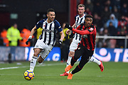 Kieran Gibbs (3) of West Bromwich Albion during the Premier League match between Bournemouth and West Bromwich Albion at the Vitality Stadium, Bournemouth, England on 17 March 2018. Picture by Graham Hunt.