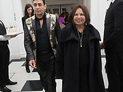 RAQIB SHAW; MRS. MITTAL, Opening of Galerie Thaddaeus Ropac London, Ely House, 37 Dover Street.. Mayfair. London. 26 April 2017.