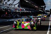 June 10-16, 2019: 24 hours of Le Mans. 1 REBELLION RACING, REBELLION R13 - GIBSO, Neel JANI, André LOTTERER, Bruno SENNA , morning warmup