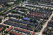 Nederland, Utrecht, Lopik, 23-05-2011;.Nette regelmatige woonwijk met rijtjeshuizen. Residential area of terraced houses..luchtfoto (toeslag), aerial photo (additional fee required).copyright foto/photo Siebe Swart