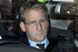 © Licensed to London News Pictures. 29/03/2019. London, UK. DAMIAN HINDS MP is seen leaving Parliament after MPs rejected Theresa May's withdrawal agreement. Photo credit: Ben Cawthra/LNP