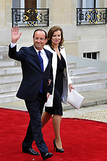 New French President, Francois Hollande,May 2012