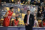 DESCRIZIONE : Roma Campionato Lega A 2013-14 Acea Virtus Roma EA7 Emporio Armani Milano <br /> GIOCATORE : Luca Banchi Gentile Alessandro<br /> CATEGORIA : ritratto fair play<br /> SQUADRA : EA7 Emporio Armani Milano <br /> EVENTO : Campionato Lega A 2013-2014<br /> GARA : Acea Virtus Roma EA7 Emporio Armani Milano <br /> DATA : 02/12/2013<br /> SPORT : Pallacanestro<br /> AUTORE : Agenzia Ciamillo-Castoria/M.Simoni<br /> Galleria : Lega Basket A 2013-2014<br /> Fotonotizia : Roma Campionato Lega A 2013-14 Acea Virtus Roma EA7 Emporio Armani Milano <br /> Predefinita :