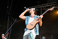 Frero Delavega during the Ronquieres Festival in Belgium. A music festival in the inclined plane Ronquieres, emblematic place of Belgium. Sould-out festival with more than 32,000 festival goers for this fourth edition