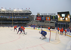 January 28, 2014: Stadium Series Practice Day - New York Islanders