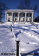 Donegal Mills Estate, Mt. Joy, PA, winter