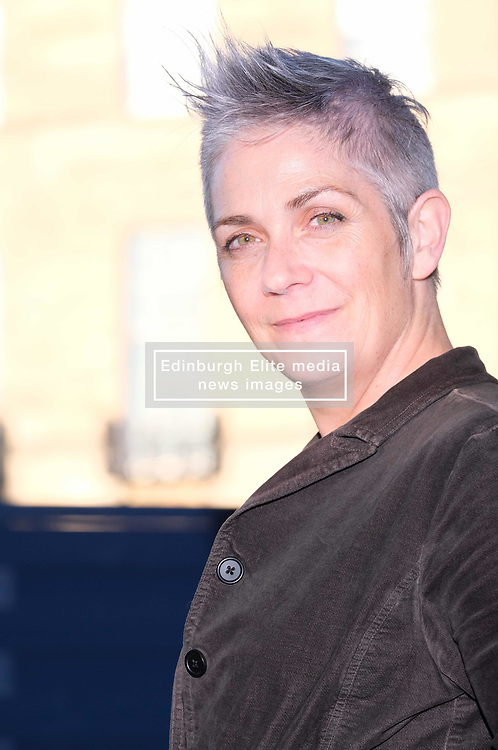 "Edinburgh International Book Festival 2017<br /> Denise Mina is a Scottish crime writer and playwright. She has written the Garnethill trilogy and another three novels featuring the character Patricia ""Paddy"" Meehan, a Glasgow journalist<br /> (c) Alex Todd 