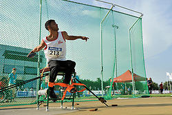 03/08/2017; Beygrezaei, Mohammadtaha, F34, IRI at 2017 World Para Athletics Junior Championships, Nottwil, Switzerland