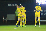 GOAL James Henry celebrates making it 2-0 during the EFL Sky Bet League 1 match between Oxford United and Rochdale at the Kassam Stadium, Oxford, England on 27 November 2018.