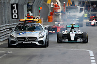 Safety Car on front of ROSBERG nico (ger) mercedes gp mgp w06 action during the 2015 Formula One World Championship, Grand Prix of Monaco from on May 24th 2015,  in Monaco. Photo Florent Gooden / DPPI