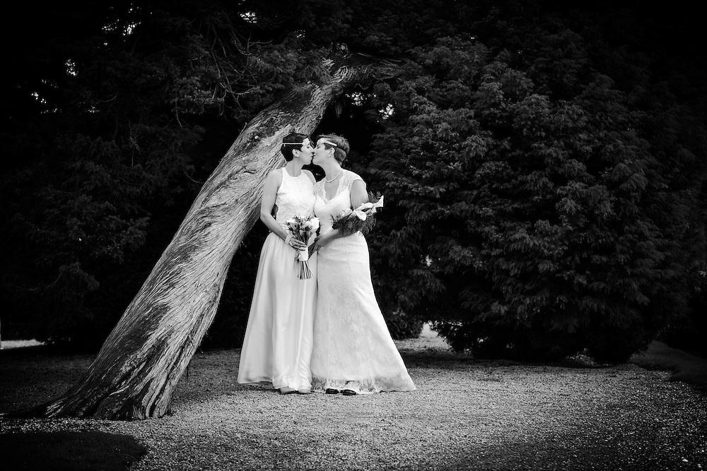 Eynsham Hall Same-sex wedding