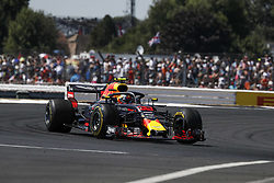 July 8, 2018 - Silverstone, Great Britain - Motorsports: FIA Formula One World Championship 2018, Grand Prix of Great Britain, .#33 Max Verstappen (NLD, Aston Martin Red Bull Racing) (Credit Image: © Hoch Zwei via ZUMA Wire)