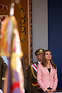 101213 Spanish Royals Attend National Day Military Parade 2013