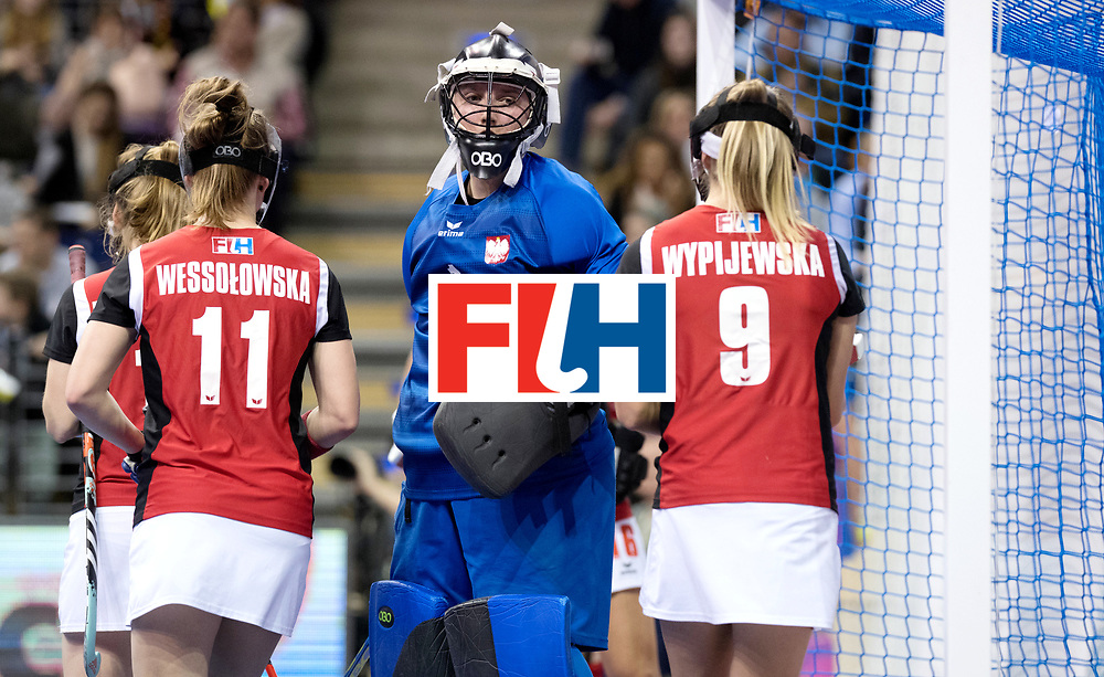 BERLIN - Indoor Hockey World Cup<br /> Quarterfinal 3: Germany - Poland<br /> foto: NOWICKA Dominika.<br /> WORLDSPORTPICS COPYRIGHT FRANK UIJLENBROEK