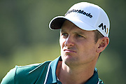 Justin Rose ends in 47th position at the end of the 3rd round of play.Day 3 of the Hong Kong Open Golf at the Hong Kong Golf Club Fanling.<br /> © Jayne Russell