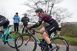 \aliry of CANYON//SRAM Racing climbs up the Cote de Lofthouse during the Tour de Yorkshire - a 122.5 km road race, between Tadcaster and Harrogate on April 29, 2017, in Yorkshire, United Kingdom.