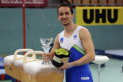 Saso Bertoncelj placed second at Salamunov memorial World Cup, on April 18, 2009, in Arena Luknja, Ljudski vrt, Maribor, Slovenia. (Photo by Zoran Flis / Sportida)