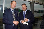 Harry Blain and Lord Strathclyde, Conservative Party Chairmen's Summer reception, House of Commons Terace, 7 July 2004. SUPPLIED FOR ONE-TIME USE ONLY-DO NOT ARCHIVE. © Copyright Photograph by Dafydd Jones 66 Stockwell Park Rd. London SW9 0DA Tel 020 7733 0108 www.dafjones.com