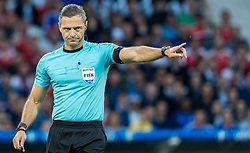19.06.2016, Stade Pierre Mauroy, Lille, FRA, UEFA Euro, Frankreich, Schweiz vs Frankreich, Gruppe A, im Bild Referee Pavel Kralovec (CZE) // Referee Pavel Kralovec (CZE) during Group A match between Switzerland and France of the UEFA EURO 2016 France at the Stade Pierre Mauroy in Lille, France on 2016/06/19. EXPA Pictures © 2016, PhotoCredit: EXPA/ JFK