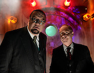 This fall, the bad boys of magic, Penn &amp; Teller, are partnering with Universal Orlando Resort to bring their eccentric and edgy illusionist entertainment to life in an all-new 3D haunted house &ndash; &ldquo;Penn &amp; Teller New(kd) Las Vegas&rdquo; &ndash; at Halloween Horror Nights 22. Guests will step into a dark, dilapidated and radioactive version of &ldquo;Sin City,&rdquo; as if one of their magic tricks has gone terribly awry and the city has been covered in nuclear ooze. Concepted by the duo themselves, the maze will feature the best of Vegas &ndash; all glowing with a toxic green hue.<br />