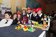Scoil Einde NS Salthill who made a functioning Brail machine from lego at the annual Junior FIRST Lego League run by Galway Education Centre, in the Radisson blu Hotel.  Photo:Andrew Downes<br />  Photo:Andrew Downes, XPOSURE
